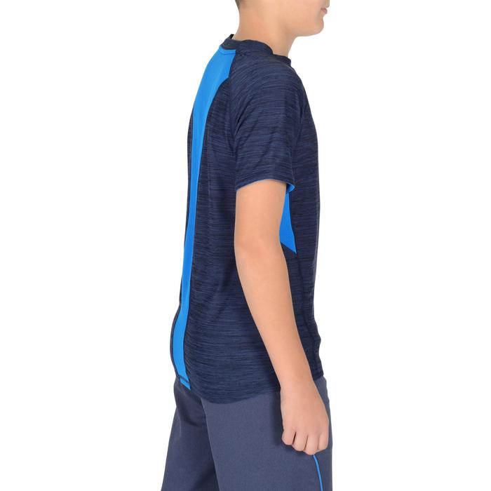 S900 Boys' Short-Sleeved Gym T-Shirt - Navy Blue - 1302389