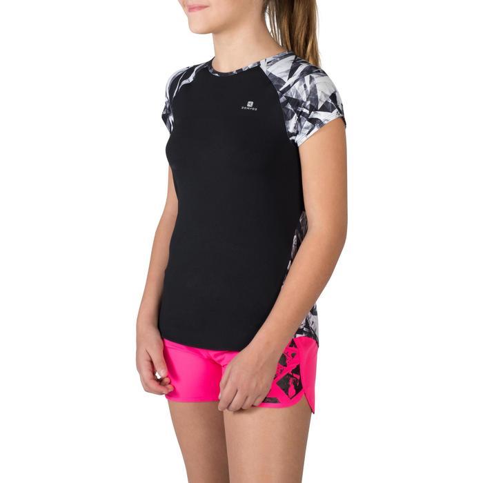 T-Shirt manches courtes S900 Gym Fille imprimé - 1302391