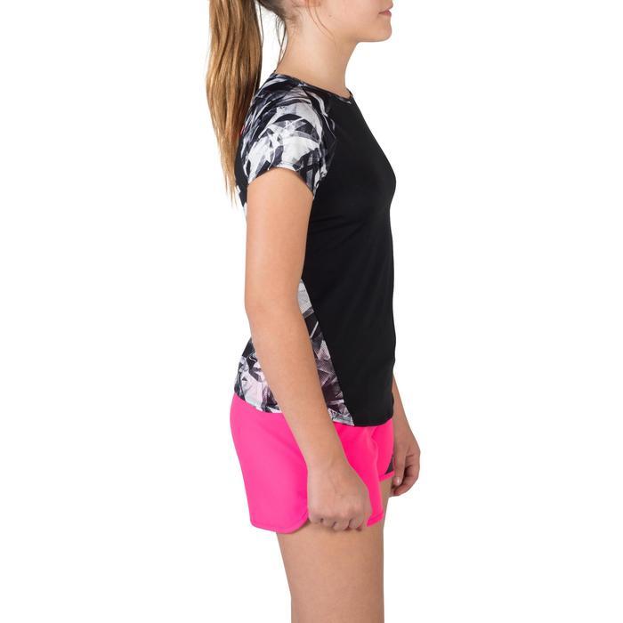 T-Shirt manches courtes S900 Gym Fille imprimé - 1302392