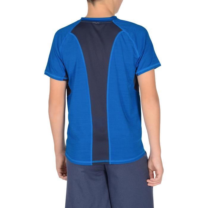 T-Shirt manches courtes S900 Gym garçon marine - 1302394