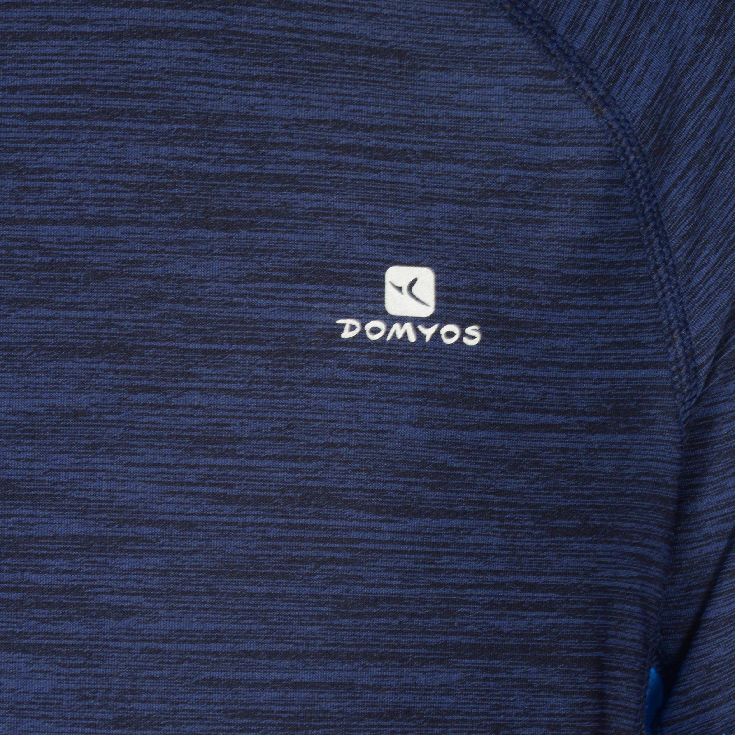 960 Boys' Short Sleeve Gym T-Shirt - Navy