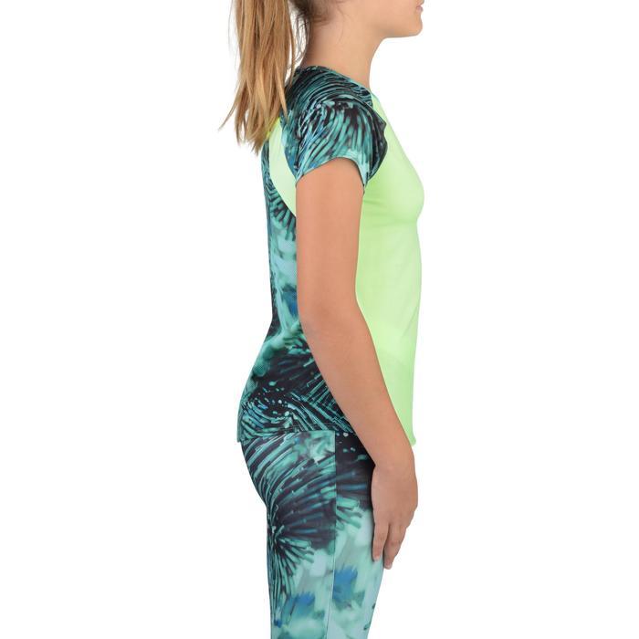 T-Shirt manches courtes S900 Gym Fille imprimé - 1302402
