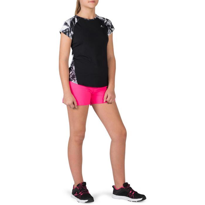 T-Shirt manches courtes S900 Gym Fille imprimé - 1302405