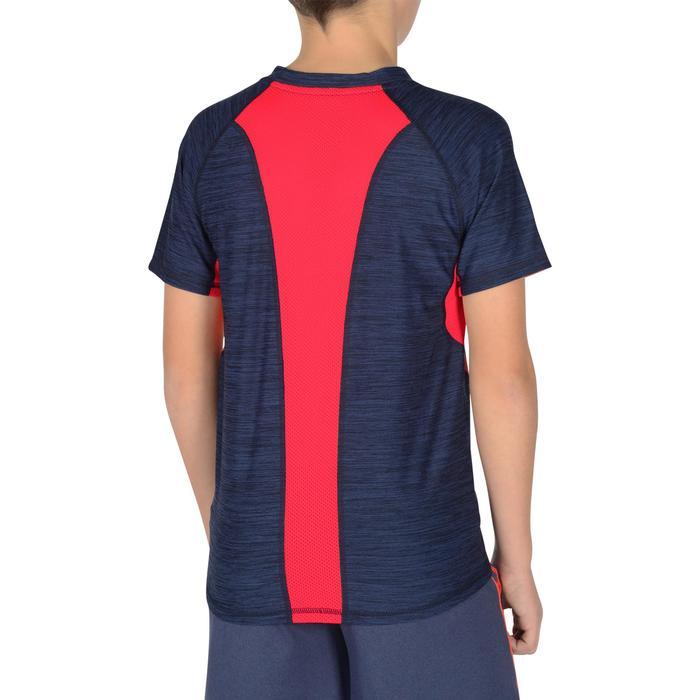 T-Shirt manches courtes S900 Gym garçon marine - 1302406