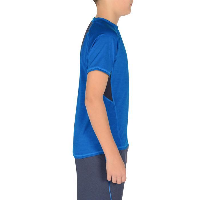 T-Shirt manches courtes S900 Gym garçon marine - 1302413