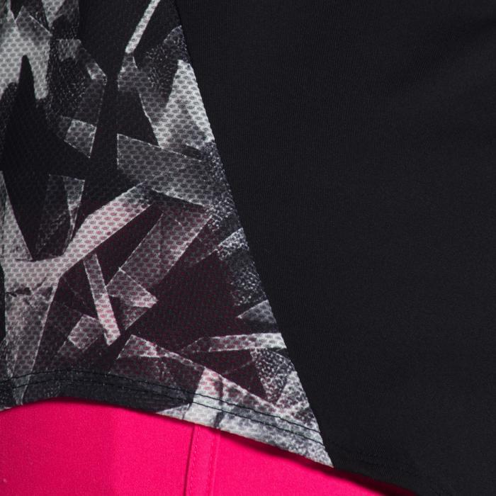 T-Shirt manches courtes S900 Gym Fille imprimé - 1302416