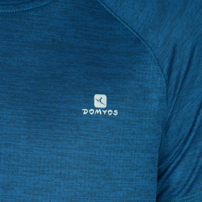 S500 Boys' Short-Sleeved Gym T-Shirt - Blue - 1302421