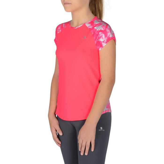 T-Shirt manches courtes S900 Gym Fille imprimé - 1302437