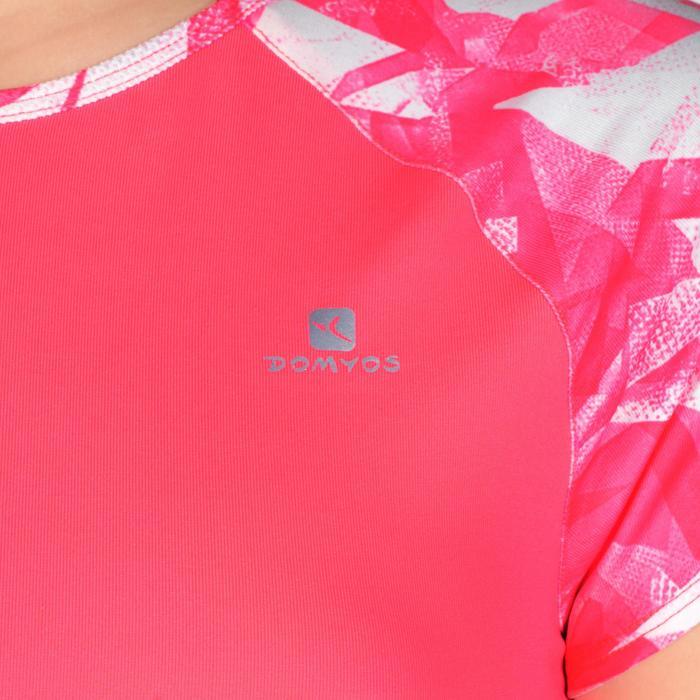 T-Shirt manches courtes S900 Gym Fille imprimé - 1302447