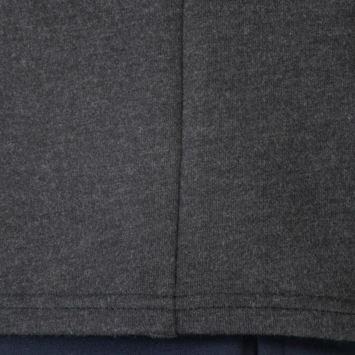 Veste 100 Gym garçon poches gris foncé - 1302492