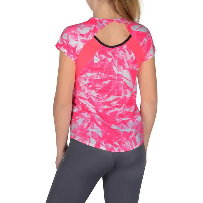 T-Shirt manches courtes S900 Gym Fille imprimé - 1302499