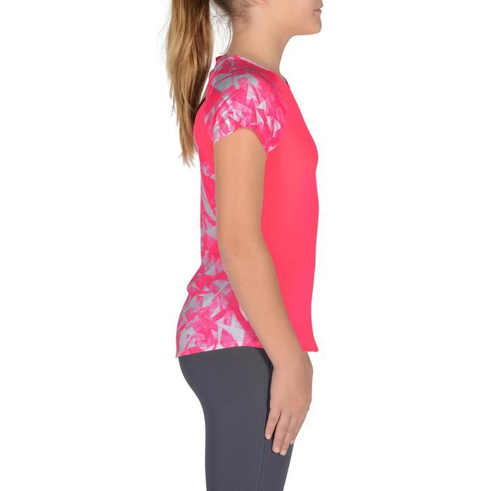 T-Shirt manches courtes S900 Gym Fille imprimé - 1302526