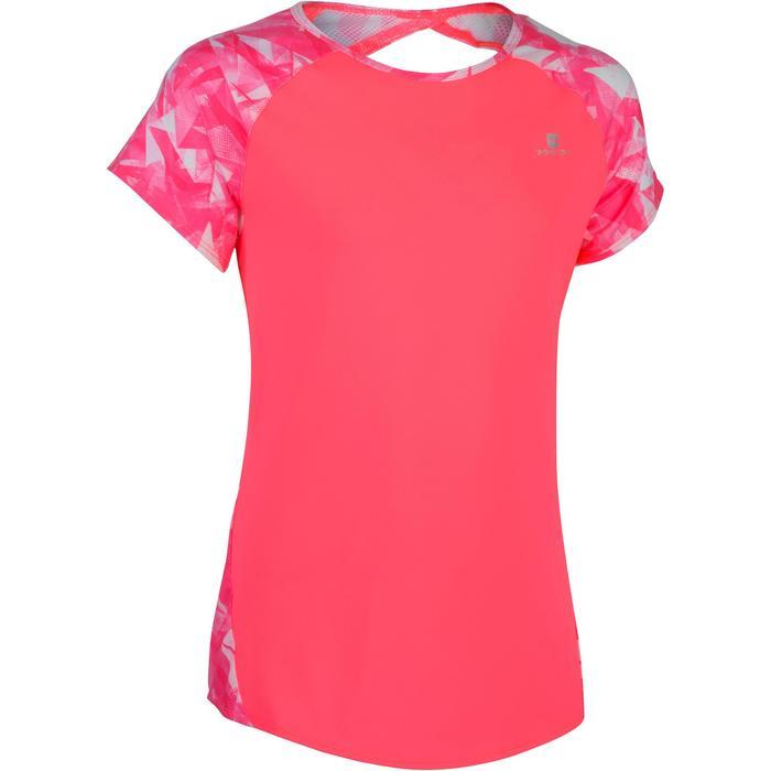 T-Shirt manches courtes S900 Gym Fille imprimé - 1302540