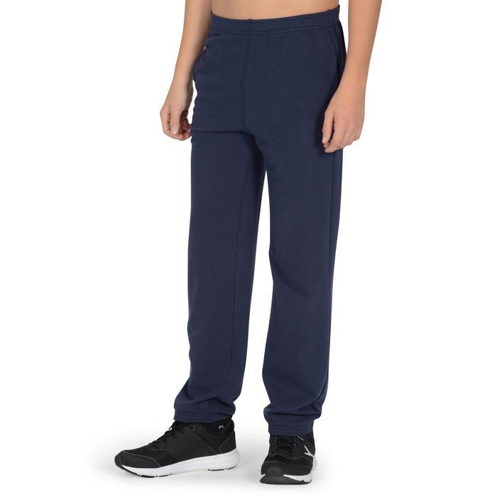 Pantalon 120 chaud regular Gym garçon poches - 1302546