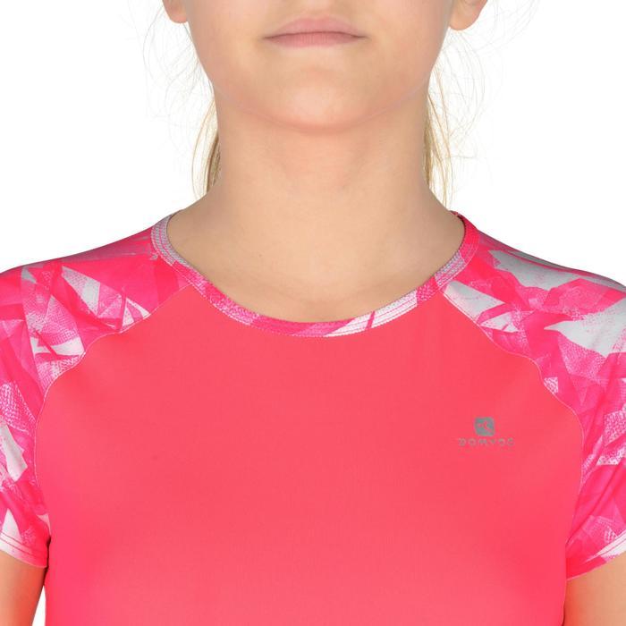 T-Shirt manches courtes S900 Gym Fille imprimé - 1302549
