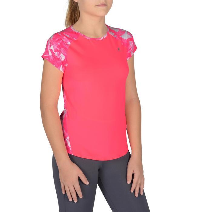 T-Shirt manches courtes S900 Gym Fille imprimé - 1302554