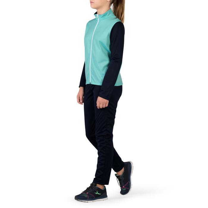 Trainingsanzug Gym'Y Gym Kinder blau