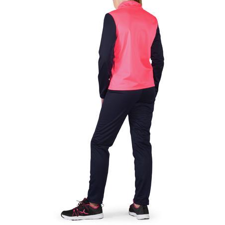 Conjunto deportivo GYM'Y cálido, sintético transp S500 niña GIMNASIA JÚNIOR rosa