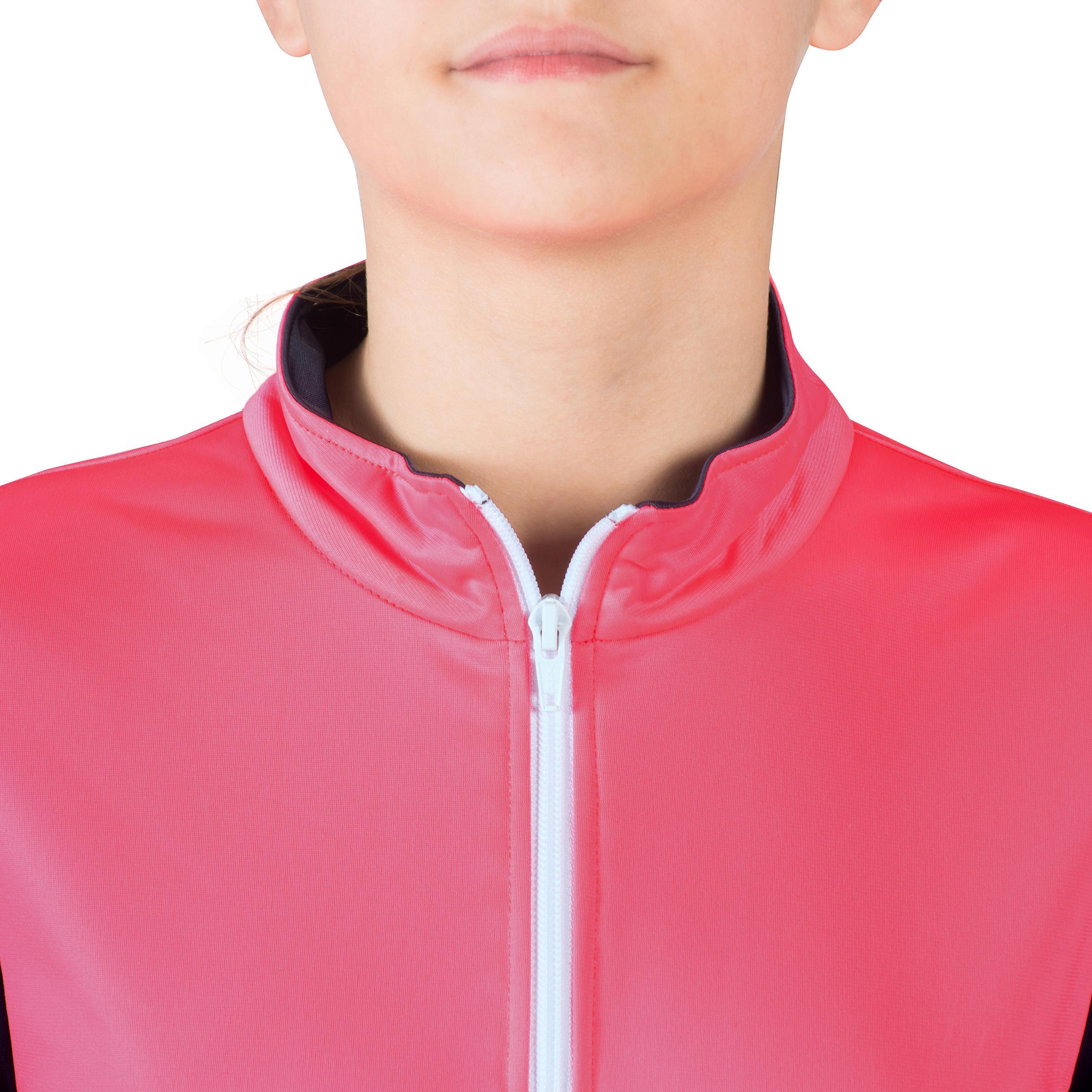 560 Girls' Gym Tracksuit - Pink