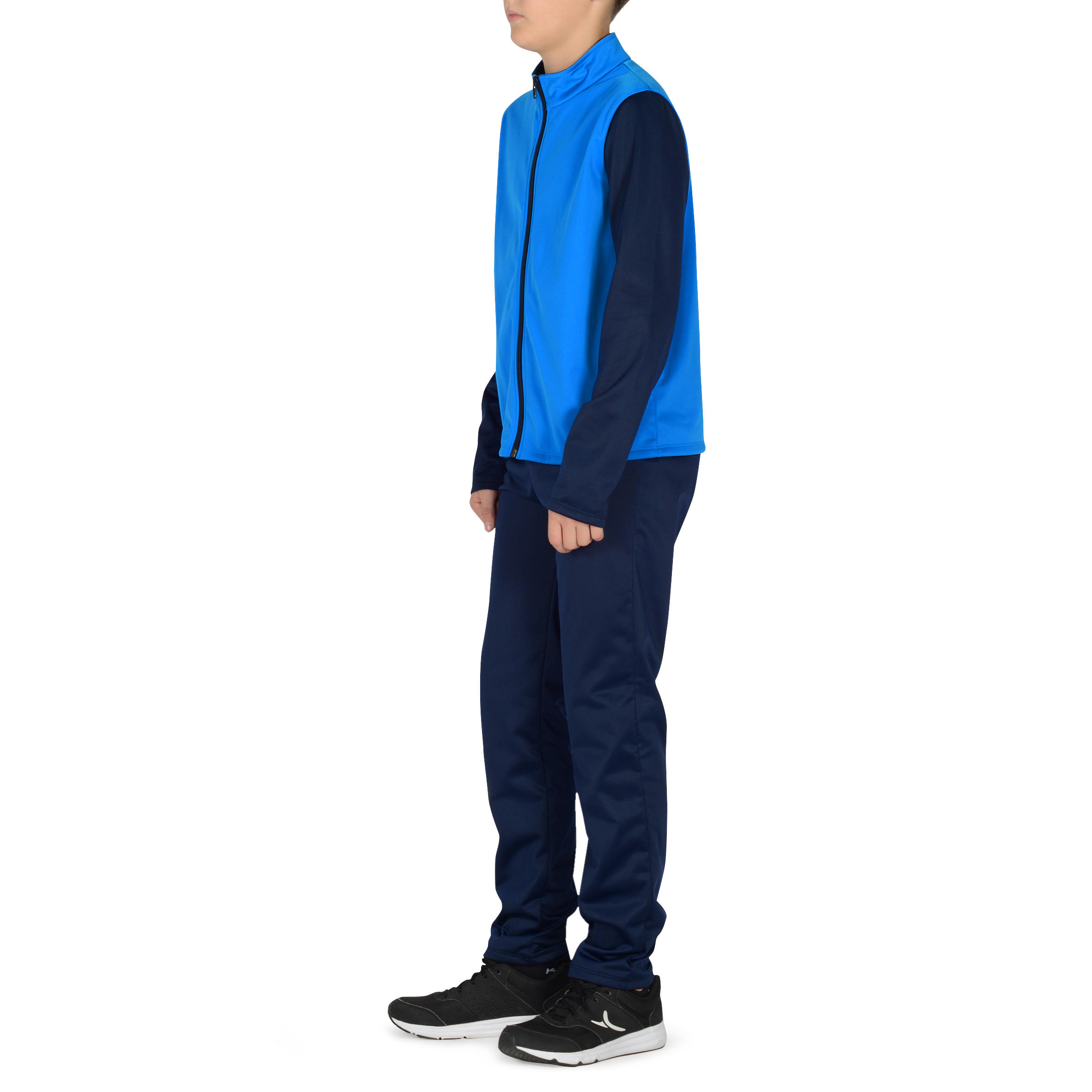 560 Boys' Gym Tracksuit - Blue