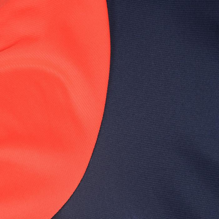 Trainingsanzug warm Synthetik atmungsaktiv Gym'y S500 Gym Kinder blau/rot