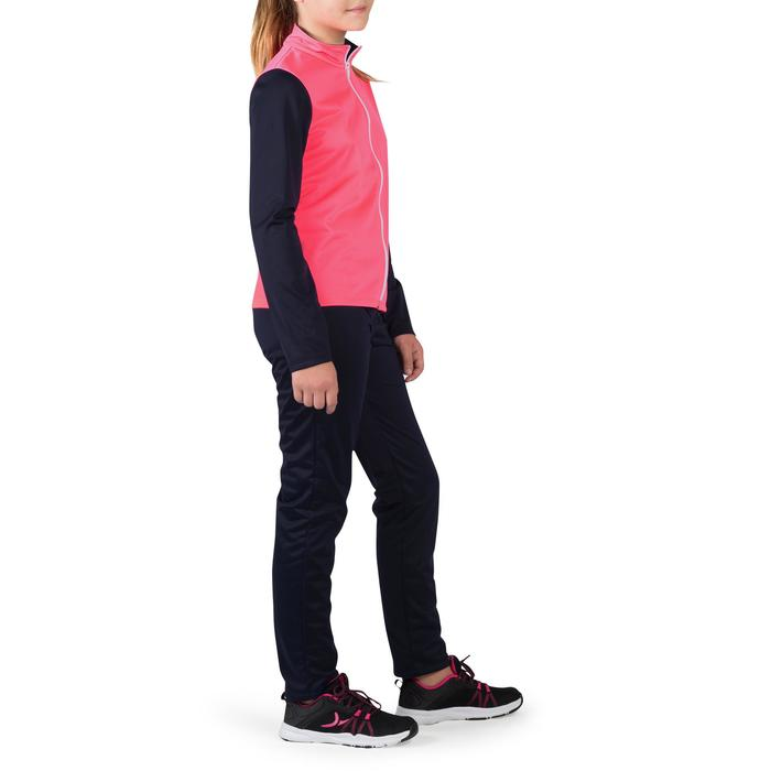 Trainingspak GYM'Y warm, synthetisch ademend S500 meisjes GYM KINDEREN roze