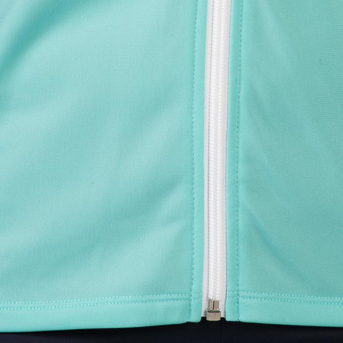 Survêtement GYM'Y chaud, synthétique respirant S500 fille GYM ENFANT bleu