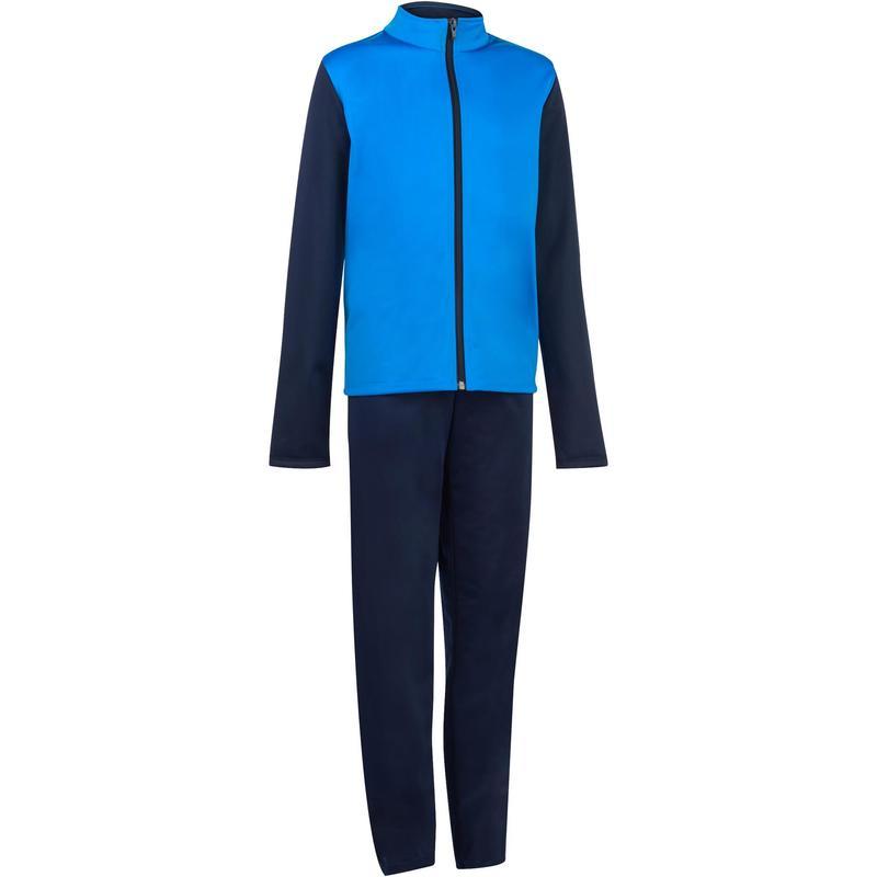 90d3ce0461aa8 Chándal Gym y gimnasia niño azul