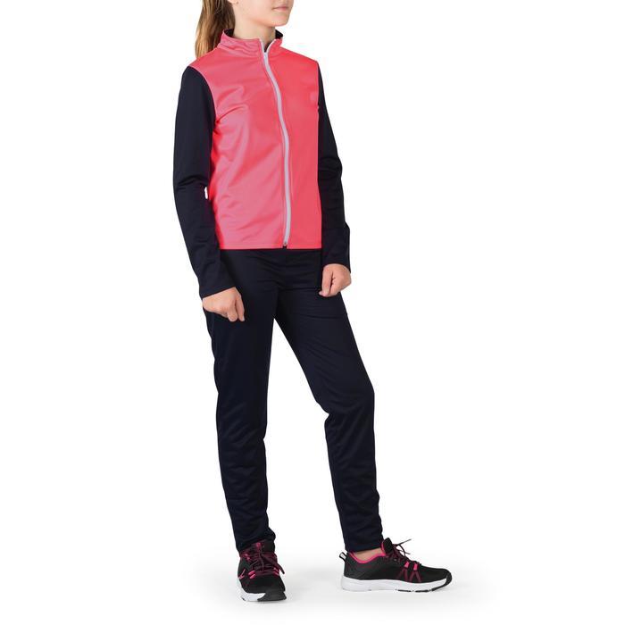 Trainingsanzug S500 Gym'y Kinder rosa