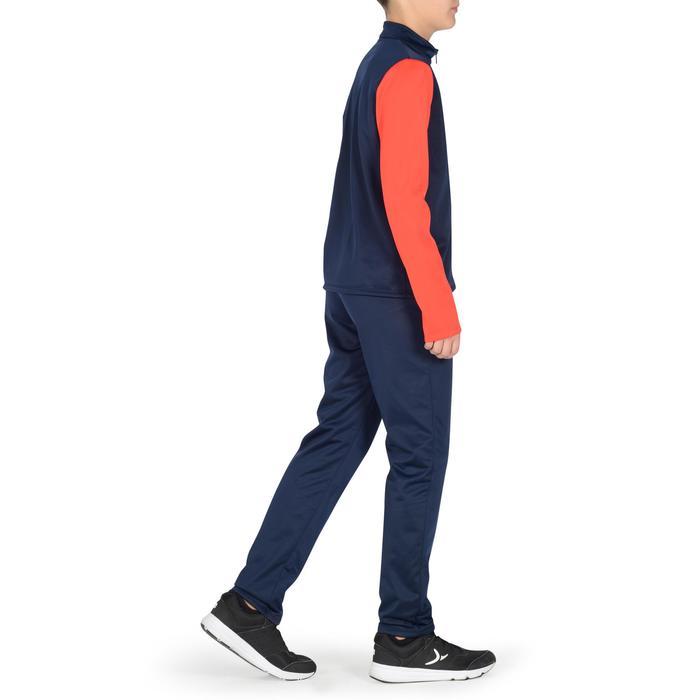 Trainingsanzug S500 Gym'Y Gym Kinder marineblau/rot