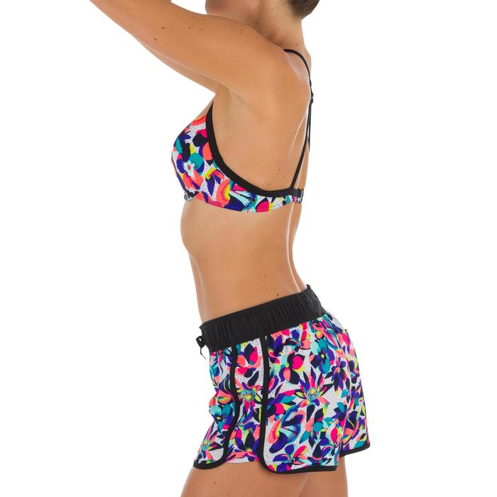 Boardshort femme TINI STREET avec ceinture élastiquée et cordon de serrage - 1302624