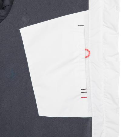 Race 100 women's yacht racing sailing jacket - White