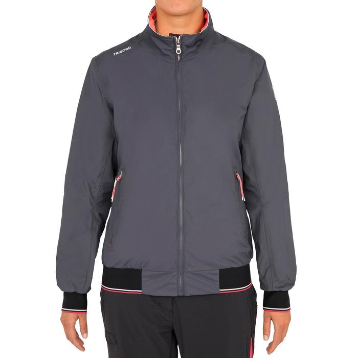 Race 100 women's boat regatta Anorak - dark grey