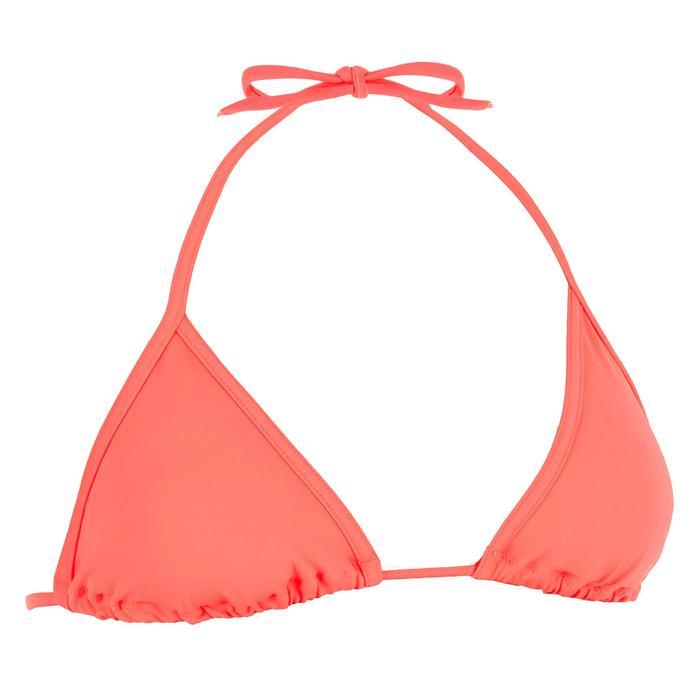 Bikini-Oberteil Triangel Mae verschiebbar mit Formschalen hellrot