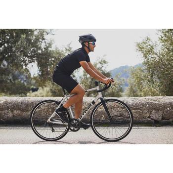 Kurze Radhose Rennrad 100 Herren schwarz
