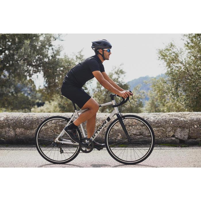 racefiets Triban 100 wielersport grijs