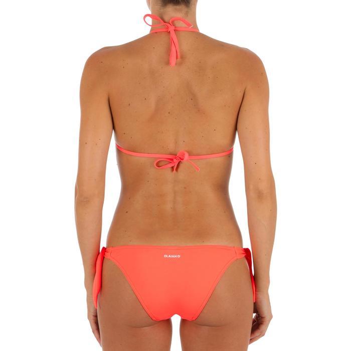Haut de maillot de bain femme triangle coulissant avec coques MAE CORAIL - 1302763