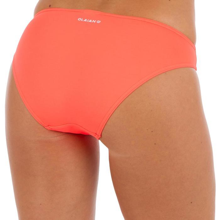 Klassiek bikinibroekje voor dames Nina fluokoraal