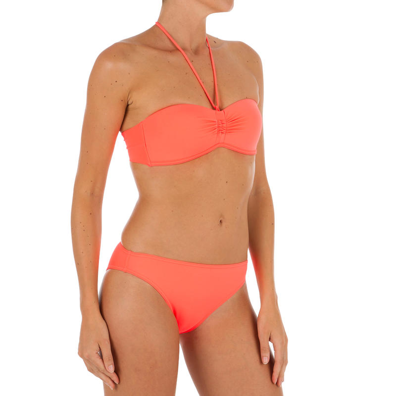 Nina Women's Classic Briefs - Neon Coral