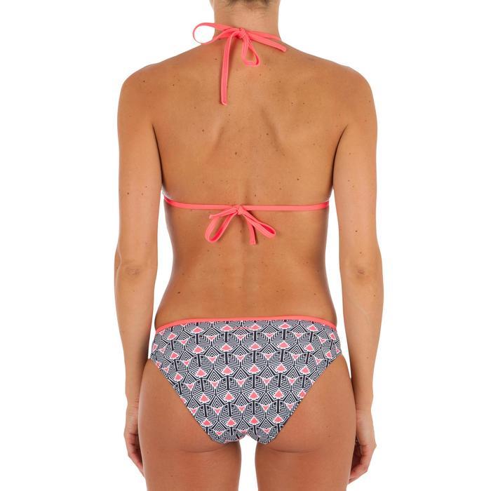 Haut de maillot de bain femme triangle coulissant avec coques MAE CORAIL - 1302872