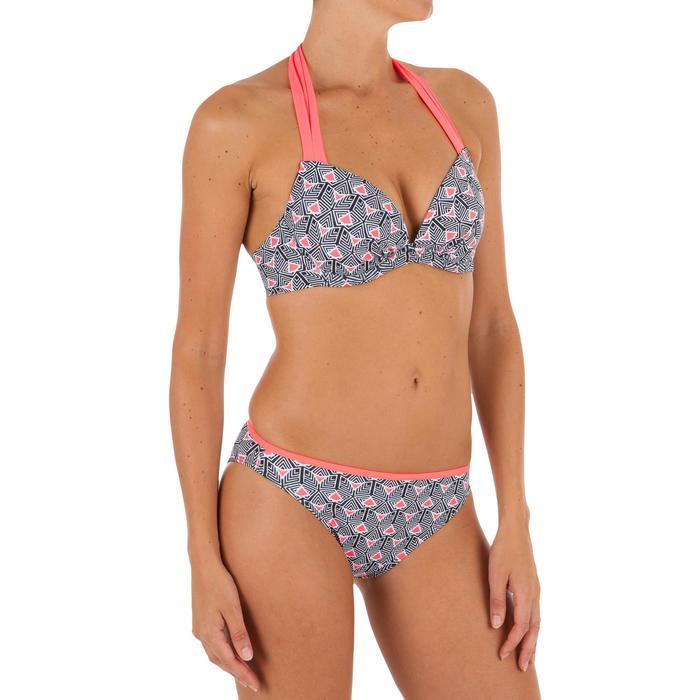 Sujetador de bikini mujer forma push up con copas fijas ELENA DIMA
