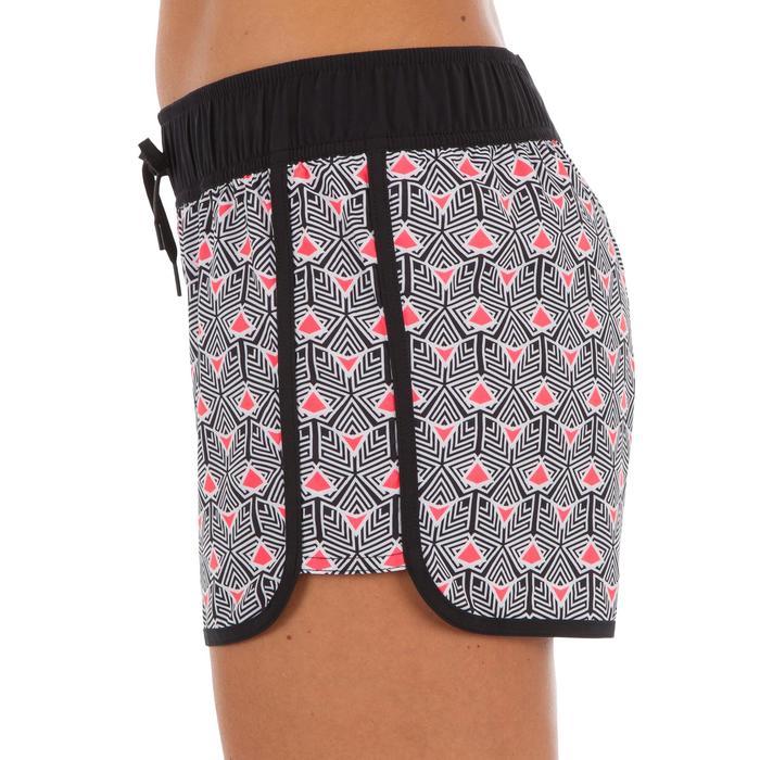 Boardshort mujer TINI DIMA con cintura elástica y cordón de ajuste