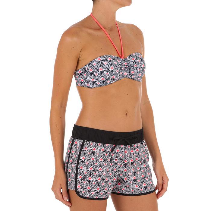 Boardshort femme TINI STREET avec ceinture élastiquée et cordon de serrage - 1302898