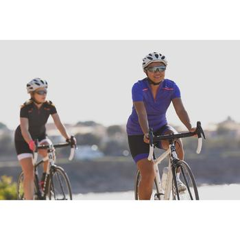 MAILLOT VELO MANCHES COURTE FEMME 500 - 1302912