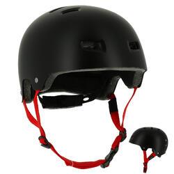 Casco de roller skateboard patinete bicicleta MF 5 negro