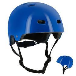 Casco de roller skateboard patinete bicicleta MF 5 azul