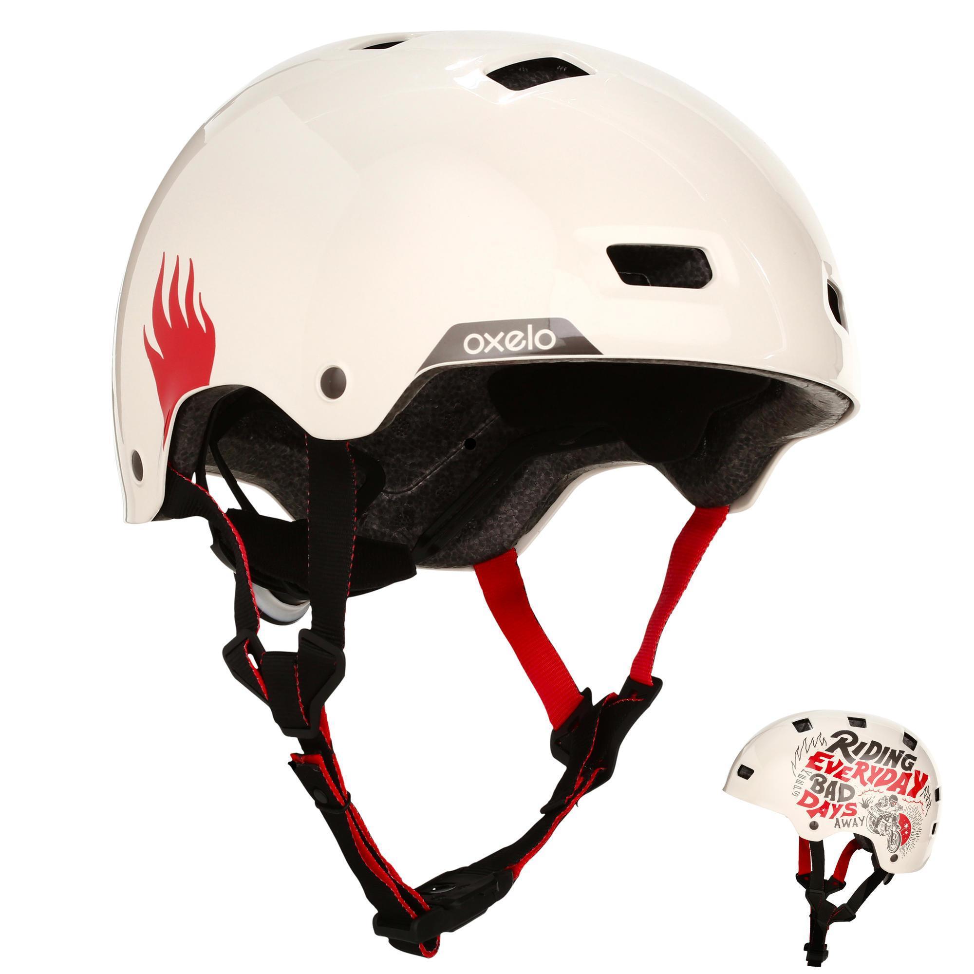 Oxelo Helm MF 540 voor skeeleren, skateboarden, steppen mint