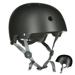 Casco de roller skateboard patinete bicicleta PLAY 5 L negro