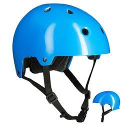 Casco de roller skateboard patinete bicicleta PLAY 3 azul