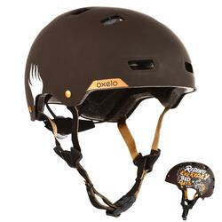 Helm voor skeeleren, skateboarden, steppen MF540 Bad Days zwart